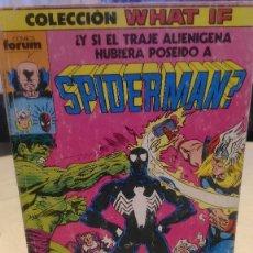 Cómics: COLECCIÓN WHAT IF. EXTRA ¿Y SI EL TRAJE ALIENÍGENA HUBIERA POSEIDO A SPIDERMAN? 5 NÚMEROS.. Lote 241492310