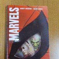 Cómics: MARVELS , KURT BUSIEK , ALEX ROSS , TAPA DURA. Lote 263565090