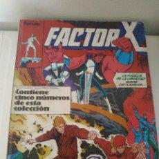 Cómics: COMIC FACTOR X Nº6 AL 10 -- 6,7,8,9,10. Lote 241658505