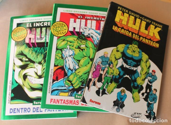 HULK - GRANDES SAGAS MARVEL 2 FANTASMAS DEL PASADO 12 DENTRO DEL PANTEÓN COMPLETA - FORUM LA CAÍDA.. (Tebeos y Comics - Forum - Hulk)