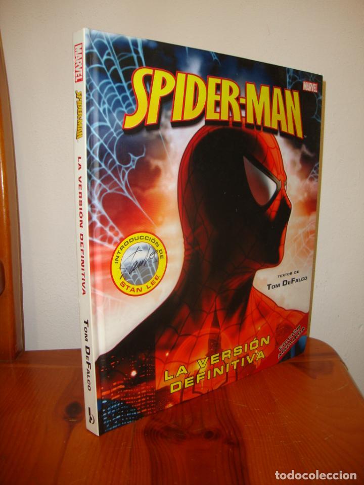 SPIDER-MAN. LA VERSIÓN DEFINITIVA - TEXTOS DE TOM DE FALCO, INTROD. DE STAN LEE. EDICIÓN AMPLIADA (Tebeos y Comics - Forum - Spiderman)