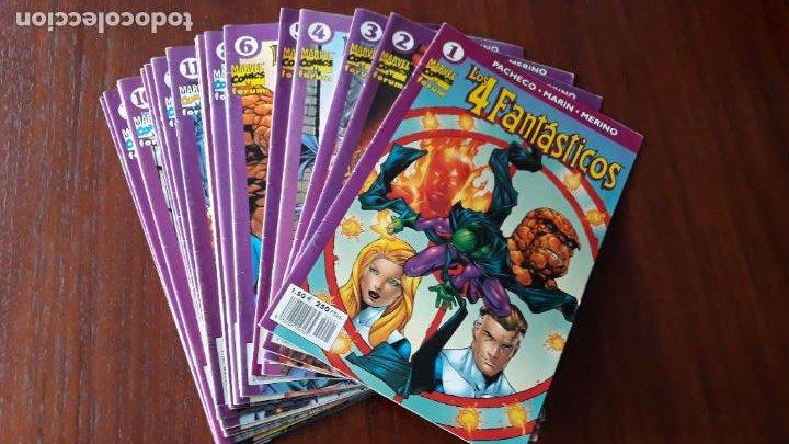 LOTE 21 COMICS LOS 4 FANTASTICOS VOL.4 FORUM Nº 1 AL 6, 8 AL 14, 16 AL 19 Y 21 AL 24 (Tebeos y Comics - Forum - 4 Fantásticos)