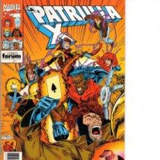 Comics: PATRULLA X Nº 137 ** 195 PTS ** MARVEL / FORUM. Lote 241890205