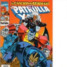 Comics: LA PATRULLA X Nº 134 ** 175 PTS ** MARVEL / FORUM ** LA CANCION DEL VERDUGO PARTE 5. Lote 241897655