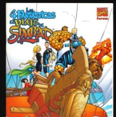 Comics: LOS 4 FANTÁSTICOS. EL VIAJE DE SIMBAD - FORUM / NÚMERO ÚNICO. Lote 241928235