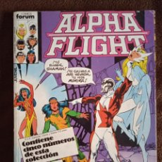 Cómics: ALPHA FLIGHT 22-23-24-25-26-FORUM. Lote 241933655