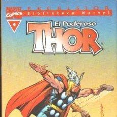 Cómics: EL PODEROSO THOR Nº4. EXCELSIOR, BIBILIOTECA MARVEL. A-COMIC-6129. Lote 241954485