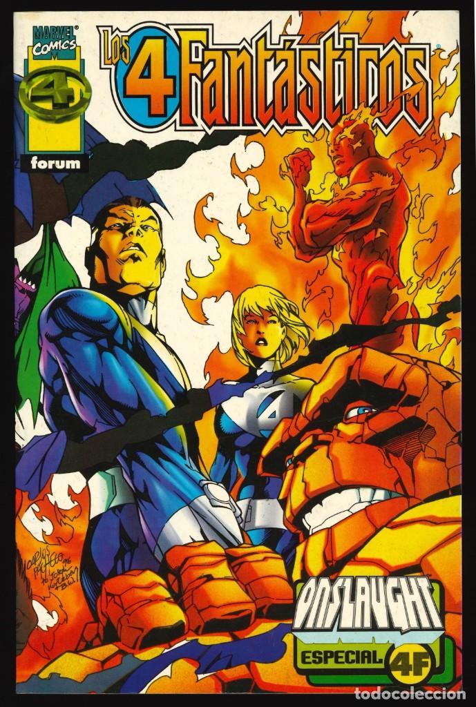 LOS 4 FANTÁSTICOS. ESPECIAL ONSLAUGHT - FORUM / NÚMERO ÚNICO (Tebeos y Comics - Forum - 4 Fantásticos)