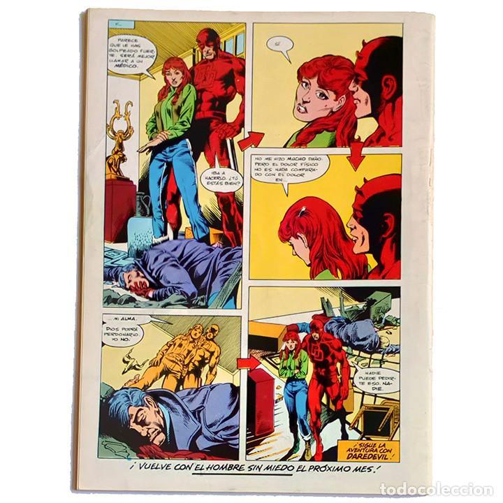 Cómics: Daredevil Vol 1 Nº 31 / Marvel / Forum 1985 (Denny ONeil & William Johnson) Procede de Retapado - Foto 2 - 242263100