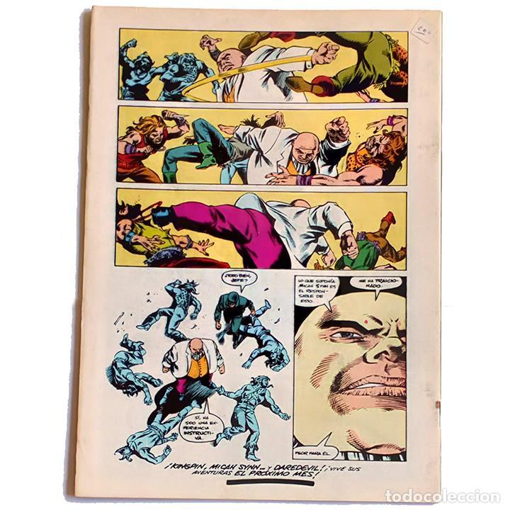 Cómics: Daredevil Vol 1 Nº 34 / Marvel / Forum 1985 (Arthur Byron Cover & David Mazzucchelli) - Foto 2 - 196348542