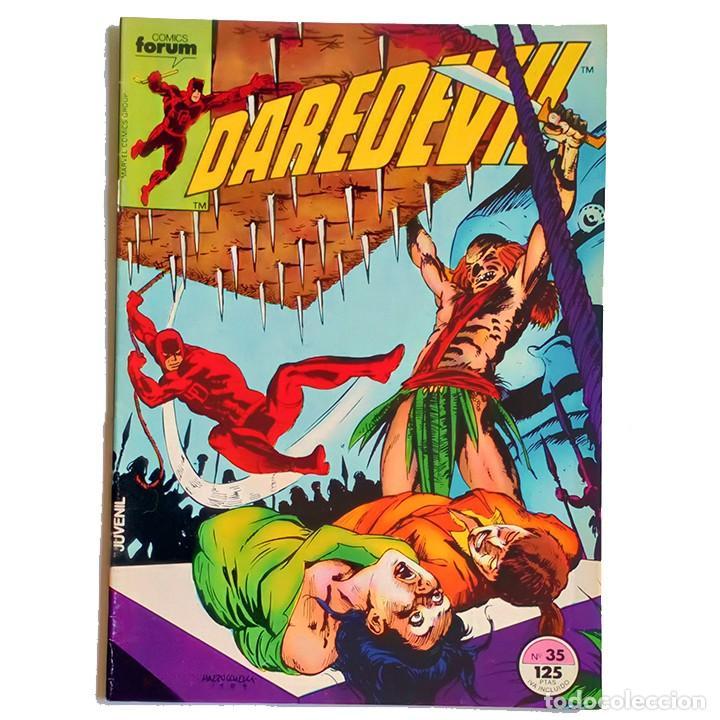 DAREDEVIL VOL 1 Nº 35 / MARVEL / FORUM 1985 (DENNY O'NEIL & DAVID MAZZUCCHELLI) (Tebeos y Comics - Forum - Daredevil)