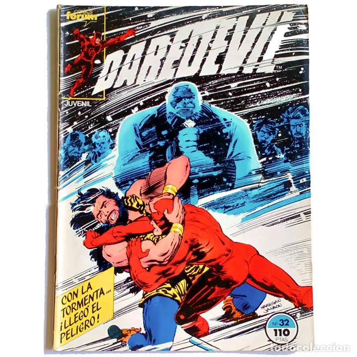DAREDEVIL VOL 1 Nº 32 / MARVEL / FORUM 1985 (DENNY O'NEIL & DAVID MAZZUCHELLI) (Tebeos y Comics - Forum - Daredevil)