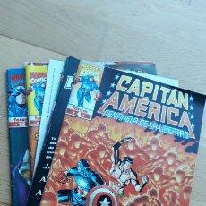 Comics: CAPITÁN AMÉRICA FORUM CENTINELA DE LA LIBERTAD LOTE DE 7 COMICS Nº 4, 5, 7 AL 9, 11 Y 12. Lote 242355050