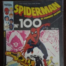 Cómics: SPIDERMAN 100 VOL 1-FORUM ( SIN PÓSTER). Lote 242362715