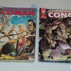Cómics: LOTE 7 COMICS LA ESPADA SALVAJE DE CONAN EL BARBARO DE FORUM SERIE ORO. Lote 242394670