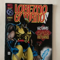 Cómics: MARVEL COMICS - FORUM EDITORIAL - LOBEZNO GAMBITO - 4 DE 4. Lote 242493300