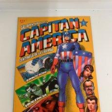 Cómics: LAS AVENTURAS DEL CAPITÁN AMERICA. Lote 242958035