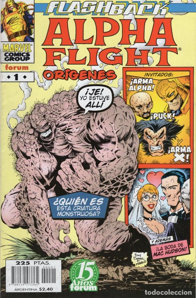 ALPHA FLIGHT ORIGENES Nº 1 - FORUM - OFM15 (Tebeos y Comics - Forum - Alpha Flight)