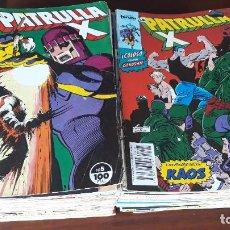 Cómics: LOTE 81 COMICS PATRULLA X FORUM VOL.1 ENTRE EL Nº 5 Y EL 158 CON 4 EXTRAS. Lote 242992045
