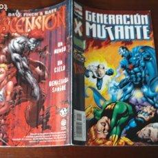 Cómics: GENERACIÓN MUTANTE FORUM GENERACIÓN X X-FORCE X-MAN Nº 4. Lote 243003080