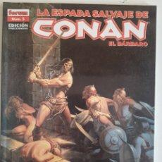 Cómics: CONAN EL BARBARO N.5 EDIC.COLECCIONISTAS. Lote 243008015