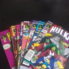 Cómics: COMICS MARVEL HULKA 15 PRIMEROS NÚMEROS COLECCIÓN FORUM. Lote 243034415