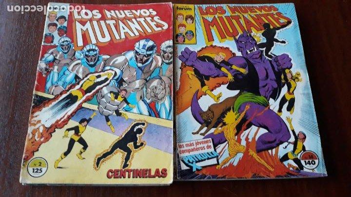 LOTE 18 COMICS NUEVOS MUTANTES VOL.1 FORUM ENTRE EL Nº 2 Y EL 64 CON 1 EXTRA (Tebeos y Comics - Forum - Nuevos Mutantes)