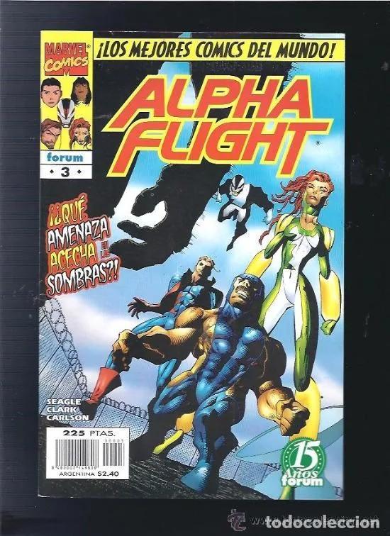 ALFHA FLIGHT VOL II Nº 3 FORUM BUEN ESTADO MUCHOS MAS EN VENTA MIRA TUS FALTAS C24X3 (Tebeos y Comics - Forum - Alpha Flight)
