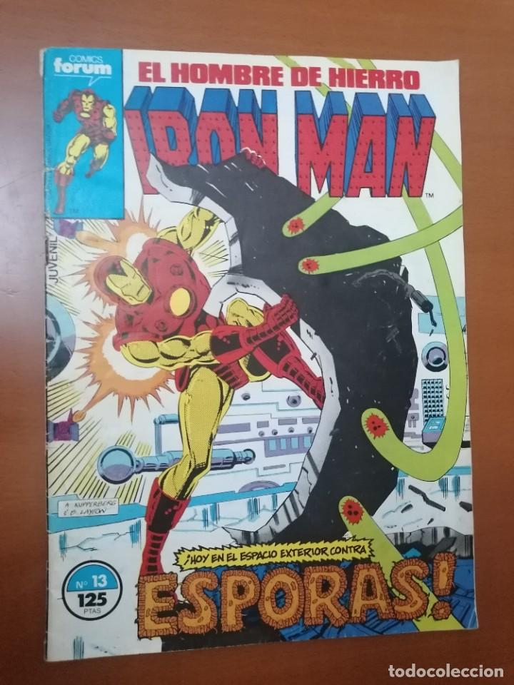 IRON MAN, EL HOMBRE DE HIERRO Nº 13 * 125 PTS ** FORUM (Tebeos y Comics - Forum - Iron Man)