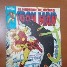 Cómics: IRON MAN, EL HOMBRE DE HIERRO Nº 13 * 125 PTS ** FORUM. Lote 243191020