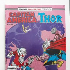 Cómics: MARVEL TWO-IN-ONE CAPITAN AMERICA THOR VOL 1 Nº 55 (FORUM,1989). Lote 243201140