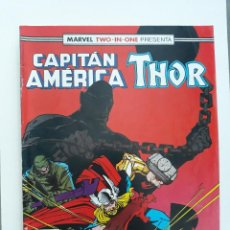 Cómics: MARVEL TWO-IN-ONE CAPITAN AMERICA THOR VOL 1 Nº 57 (FORUM,1989). Lote 243201455