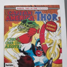 Cómics: MARVEL TWO-IN-ONE CAPITAN AMERICA THOR VOL 1 Nº 61 FORUM. Lote 243201985