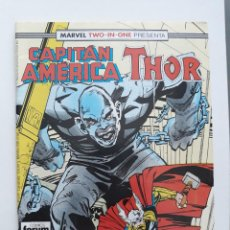 Cómics: MARVEL TWO-IN-ONE CAPITAN AMERICA THOR VOL 1 Nº 58 FORUM. Lote 243202745