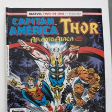 Cómics: MARVEL TWO-IN-ONE CAPITAN AMERICA THOR VOL 1 Nº 59 FORUM. Lote 243202790