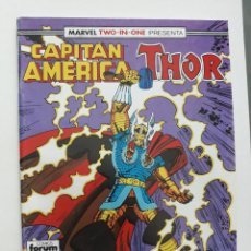 Cómics: MARVEL TWO-IN-ONE CAPITAN AMERICA THOR VOL 1 Nº 60 FORUM. Lote 243202880