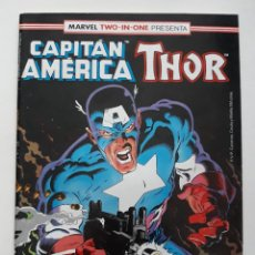 Cómics: MARVEL TWO-IN-ONE CAPITAN AMERICA THOR VOL 1 Nº 62 FORUM. Lote 243203160