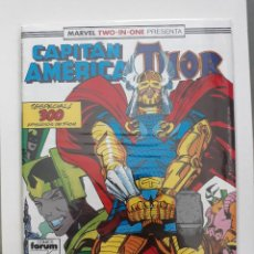 Cómics: MARVEL TWO-IN-ONE CAPITAN AMERICA THOR VOL 1 Nº 64 FORUM. Lote 243203330