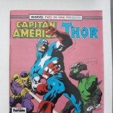Cómics: MARVEL TWO-IN-ONE CAPITAN AMERICA THOR VOL 1 Nº 65 FORUM. Lote 243203405