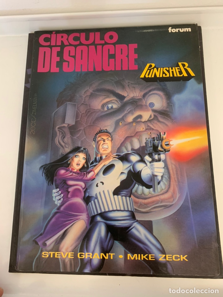 CÍRCULO DE SANGRE PUNISHER (Tebeos y Comics - Forum - Prestiges y Tomos)