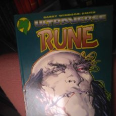 Cómics: RUNE BARRY WINDSOR-SMITH ULTRAVERSE 1995 PLANETA-DEAGOSTINI 200 PAGINAS. PERFECTO. Lote 243211570