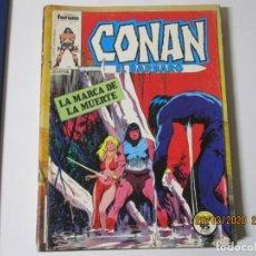 Cómics: CONAN EL BARBARO Nº 54 LA MARCA DE LA MUERTE FORUM. Lote 243273470