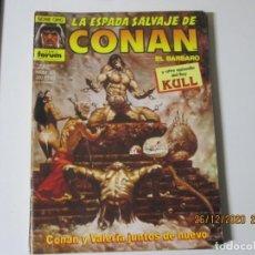 Cómics: LA ESPADA SALVAJE DE CONAN EL BÁRBARO Nº 65. Lote 243275510
