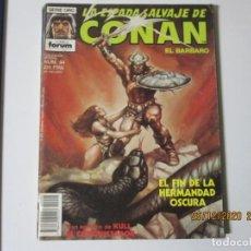 Cómics: LA ESPADA SALVAJE DE CONAN EL BÁRBARO Nº 94. Lote 243276240
