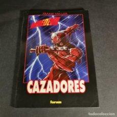 Cómics: MARVEL COMICS DAREDEVIL CAZADORES - FRANK MILLER - OBRAS MAESTRAS 24 FORUM. Lote 243337305