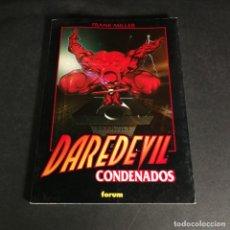 Cómics: MARVEL COMICS DAREDEVIL CONDENADOS - FRANK MILLER - OBRAS MAESTRAS 31 FORUM. Lote 243337375