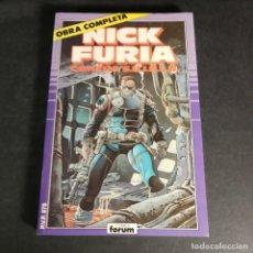 Cómics: COMICS FORUM MARVEL COMICS NICK FURIA CONTRA S.H.I.E.L.D SHIELD OBRA COMPLETA EN UN TOMO RETAPADO. Lote 243343775