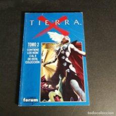 Cómics: COMICS FORUM MARVEL COMICS TIERRA X TOMO 2 CONTIENE LOS NÚMEROS 3, 4, 5, 6 EN UN TOMO RETAPADO. Lote 243344145