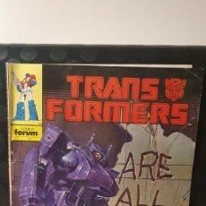 Cómics: TRANSFORMERS/ ARE ALL DEAD/ N°4/ COMICS FORUM/ (REF.2.A). Lote 243426605
