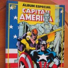 Cómics: CAPITAN AMERICA ALBUM ESPECIAL CON DOS NUMERO EXTRAS - PLANETA 1983 - FORUM. Lote 243492225